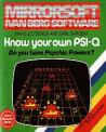Know Your Own Psi-Q (Cassette) For The BBC/Electron