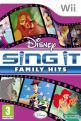 Disney Sing It: Family Hits (Nintendo Wii Disc) For The Nintendo Wii (EU Version)