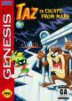 Taz In Escape From Mars (ROM Cart) For The Sega Genesis