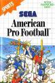 American Pro Football (ROM Cart) For The Sega Master System (EU Version)