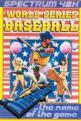 World Series Baseball (Cassette) For The Spectrum 48K
